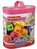 Fisher-Price TRIO Junior My First Blocks - Pastel Colors