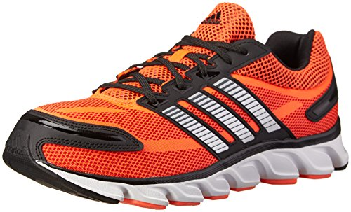 Adidas Performance Men'S Powerblaze M Running Shoe, Solar Red/Metallic Silver/Black 1, 9 M Us back-1034490