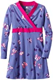 Tea Collection Girls 7-16 Classic Wrap Dress Bluebell