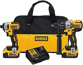 DeWALT DCK299M2 20-Volt Max XR Drill and Impact Driver Combo