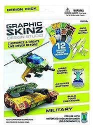 RoseArt Graphic Skinz Design Set, Military