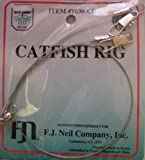 Dolphin Catfish Rig - Stainless Wire w/Swivel & Snaps
