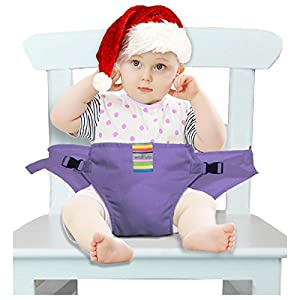 The Washable Portable Travel High Chair Booster Baby Seat with straps Toddler Safety Harness Baby feeding the strap Dining Chair Belt (6 Color) from Hangzhou Wo yu Trading Co., Ltd