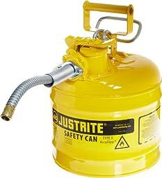 Justrite 7220220 AccuFlow 2 Gallon, .3 Size, 9.50\