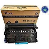 V4INK ® Compatible Drum Unit Replacement for Brother DR360 12,000 Pages Yield for Printer HL-2140/2150/2170Series/DCP-7030/7040Series/MFC-7340/7440/7840 Series