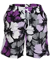 Waooh - Short De Bain Motif Fleurs Style Hawaïen Téo