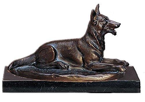 Unbekannt AS-P | Trophäe/ Figur - Schäferhund Bronze inkl. Ihrer Wunschgravur