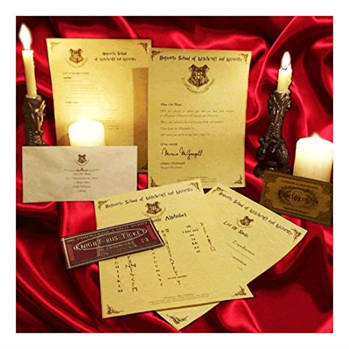 Harry Potter PERSONALISED Gift Set Hogwarts Acceptance