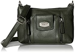 Rosetti Cash and Carry Delphine Cross Body Bag, Rosemary, One Size