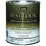Best Look Interior Latex Eggshell Paint And Primer In One Enamel-INT EGG EX DEEP