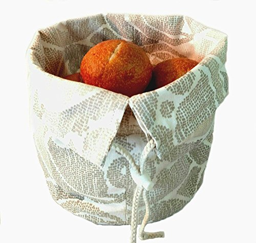 Bread Basket, European Design Inspired (Covered Bread Basket compare prices)