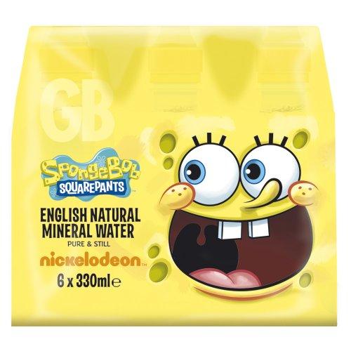 Spongebob Squarepants Mineral Water 6 x 330 ml (Pack of 4)