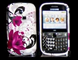 Goldstar Tulip/Pink Flowers Silicone Gel Case Cover For Samsung Ch@t335 Chat S3350