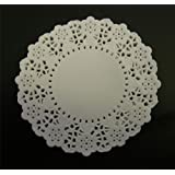 White 4.5 Inch Paper Doilies - Pack of 250
