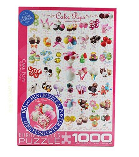 Cake Pops 1000 Piece Puzzle