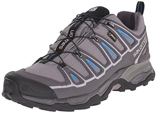 SalomonX Ultra II GTX - Scarpe da trekking medio Uomo , Grigio (Grau (Detroit/Autobahn/Methyl  Blue)), 43 1/3