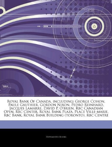 articles-on-royal-bank-of-canada-including-george-cohon-paule-gauthier-gordon-nixon-pedro-reinhard-j