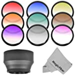 58MM Complete Graduated Lens Color Fi...