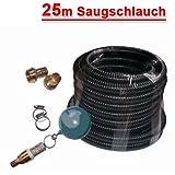Ansaug Set 4 mit 25m Saug -/Druckschlauch, Schwimmerkugel, S...