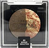 Maybelline EyeStudio Color Cosmos Marbleised Baked Duo Eyeshadow 60 Bronze Seduction