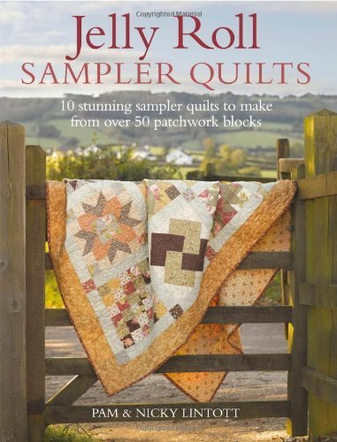 Jelly Roll Sampler Quilts: 10 Stunning Quilts to Make from 50 Patchwork Blocks by Lintott, Pam, Lintott, Nicky (2011) Paperback