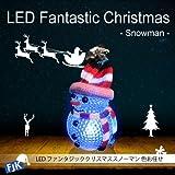 FJK LEDファンタジッククリスマススノーマン 色お任せ