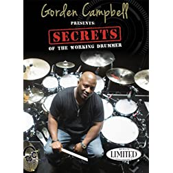 Gorden Campbell Secrets of the Working Drummer DVD