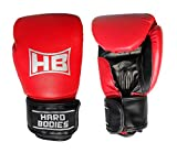 Hard Bodies Super Synthetic Leather Boxing Gloves - Red