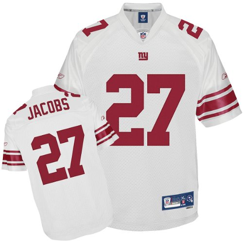Reebok New York Giants Brandon Jacobs Premier White Jersey XX Large