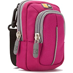 Case Logic Compact Camera Case with Storage - Magenta