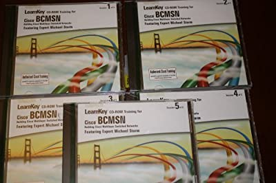 Learnkey CD-ROM Training for Cisco BCMSN Building Cisco Multilayer Switched Networks Featuring Expert Michael Storm (5 CDs)
