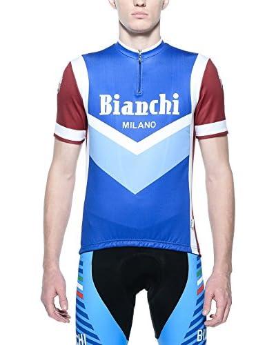 Bianchi Milano Maglia Ciclismo Brolo [Multicolore]