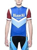 BIANCHI MILANO Maillot Ciclismo Brolo (Azul)