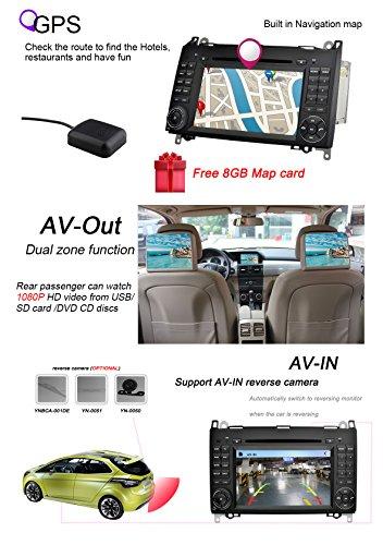 YINUO-7-Zoll-2-Din-Touchscreen-In-Dash-Autoradio-Moniceiver-DVD-Player-GPS-Navigation-fr-Mercedes-Benz-A-class-W169-2004-2012-Mercedes-Benz-B-class-W245-2004-2012-Mercedes-Benz-VianoVitoW639-2006-2014