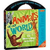 Peaceable Kingdom / Game Time! Animals of our World Write & Wipe Activities