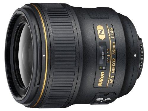 Nikon 35mm f/1.4G AF-S FX SWM Nikkor Lens for
