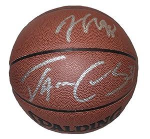 Jason & Jarron Collins Duo Autographed Signed NBA Spalding I O Basketball,...