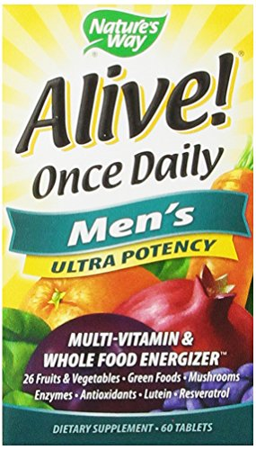 Nature's Way Alive Once Daily Men's Multi Ultra Potency, Tablets