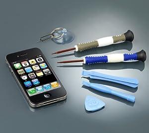 Callstel Werkzeug-Set zur iPhone-4-Reparatur, 8-teilig