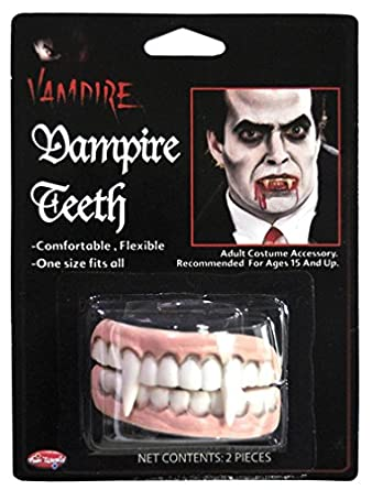 Vampire Character Teeth Accessory