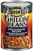 Bush39s Grillin Steakhouse Beans 22-Ounce Pack of 6
