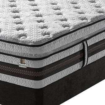 King Serta Iseries Profiles Caliber Super Pillow Top Mattress