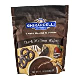 Ghirardelli Chocolate Dark Melting Wafers - 12oz