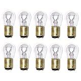 SYLVANIA 1157 Long Life Miniature Bulb, (Contains 10 Bulbs)
