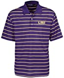 NCAA Louisiana State Fightin Tigers Feed Stripe Polo
