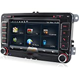 A-Sure-GPS-DVD-Autoradio-fr-VW-T5-Polo-GOLF-5-6-PASSAT-TIGUAN-TOURAN-Sharan-Caddy-Skoda-SEAT