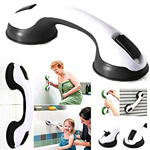 Amazon Com Super Grip Suction Bath Mount Handle Bathroom