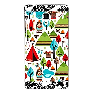 Jugaaduu Tribal Pattern Back Cover Case For Redmi 1S