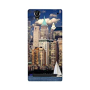 Digi Fashion Designer Back Cover with direct 3D sublimation printing for Sony Xperia T2/T2 Ultra