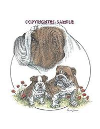 English Bulldog - Trio Image by Cindy Farmer